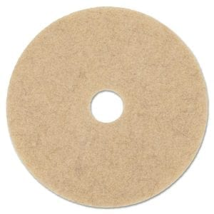 Stone Pro Tan 17″ Buffing Floor Maintenance Pad