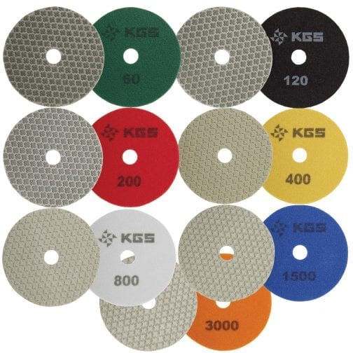 KGS SWIFLEX XX - 4 inch Diamond Polishing Pads