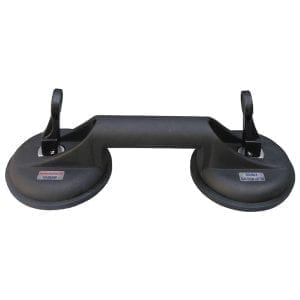Abaco Double Suction Lifter Black Rubber Cup