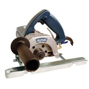 Alpha 5in Wet Contour Cutting Saw 110v