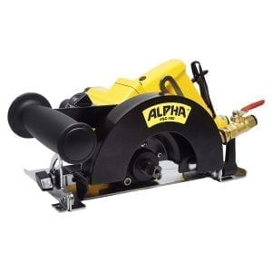 Alpha Pneumatic Stone Cutter 6in