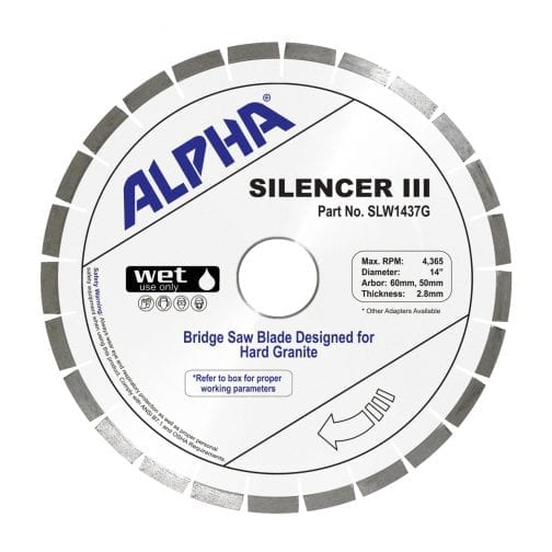 Alpha Silencer III for Hard Granite