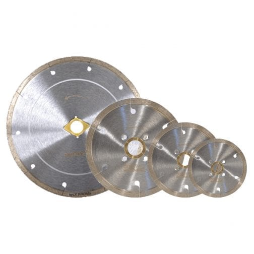 B-Slot Silver Tile Low Rim Saw Blade