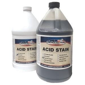 Concrete Solutions Acid Stain Systems