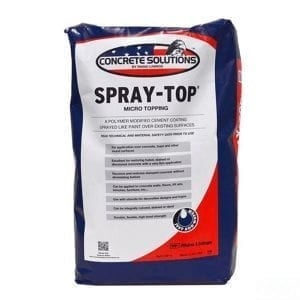 Concrete Solutions Spray-Top Polymer Cement