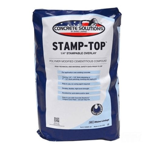 Concrete Solutions Stamp-Top Polymer Cement