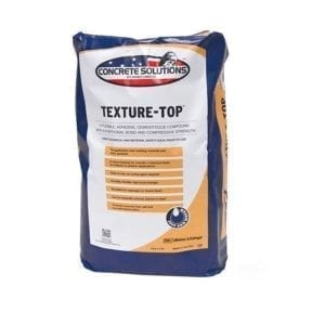 Concrete Solutions Texture Top Polymer Cement
