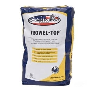 Concrete Solutions Trowel Top Cement 40lb Bag