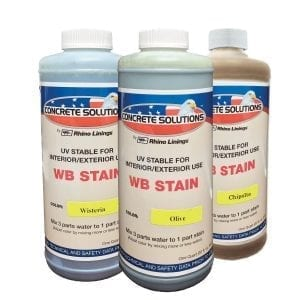 Concrete Solutions Water Based Stain System