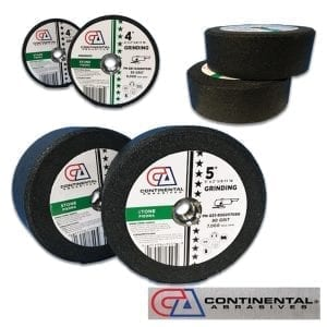 Continental Abrasive Grinding Stones