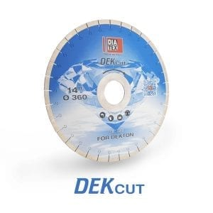 Diatex DekCut Dekton Bridge Saw Blade