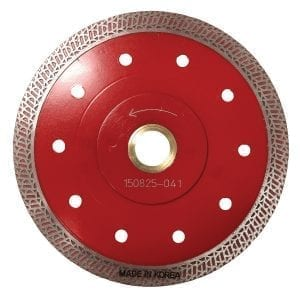 Dominator Red Quartzite Turbo Blade 5″