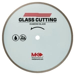 MK Diamond 10″ 215GL Glass Blade