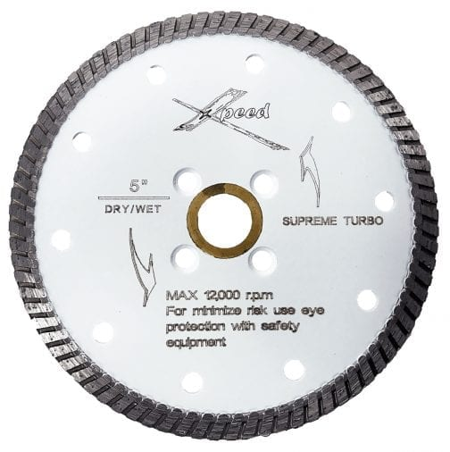 Max Xpeed Supreme White Turbo Blade