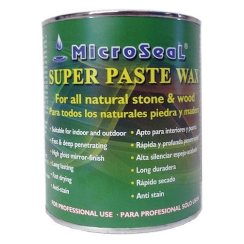 Microseal Super Paste Wax Clear/ Black