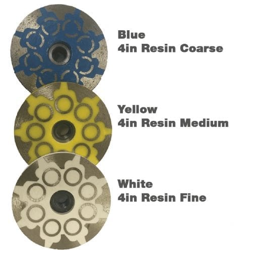 Resin Filled Diamond Cup Wheel 4in