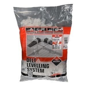 Rubi Delta Leveling System Clips 1/16 400 Count