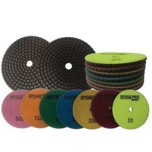 Stone Pro Copper Polishing Pads