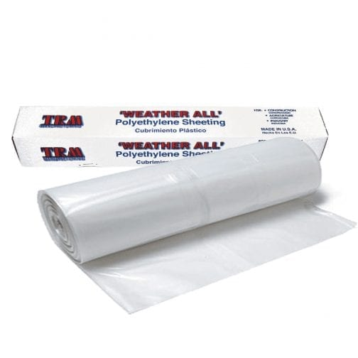 TRM Clear Protective Plastic Roll .7mil