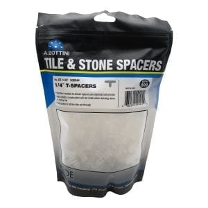 Tile and Stone T- Spacers