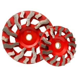 Tornado Non-Threaded Grinding Cup Wheels