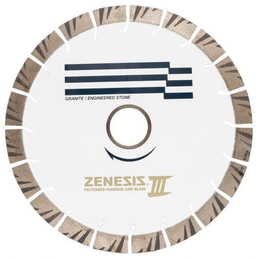 Zenesis White 3 Saw Blade