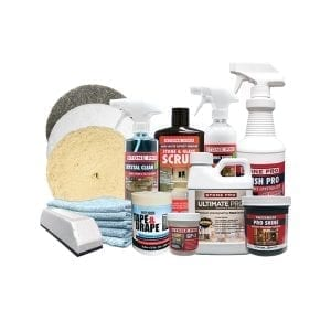 StonePro Granite Countertop Deep Clean, Polish and Protect Kit