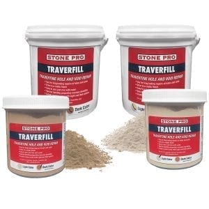 StonePro Traverfill: Travertine Hole Filler