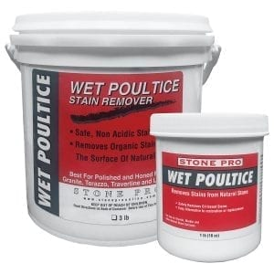 StonePro Wet Poultice: Oil Stain Remover