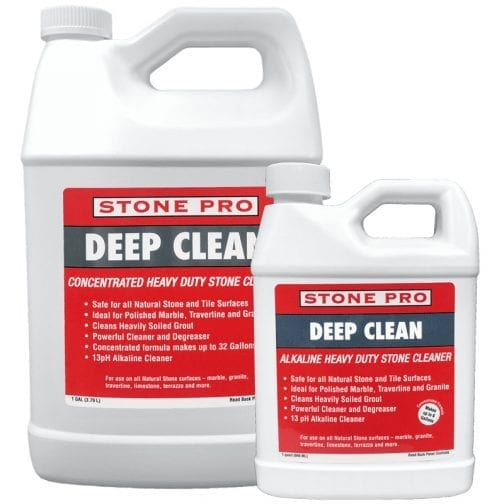 StonePro Deep Clean: Heavy Duty Stone Cleaner CONCENTRATED