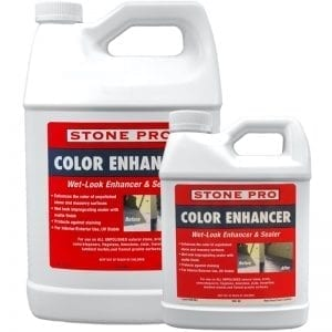 StonePro Color Enhancer: Color Darkening Sealer