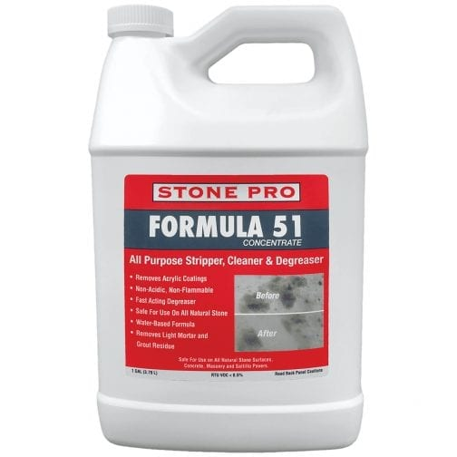 StonePro Formula 51: High Alkaline Cleaner & Degreaser CONCENTRATED