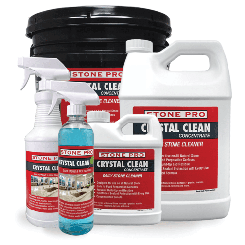 stone pro crystal clean daily cleaner combo