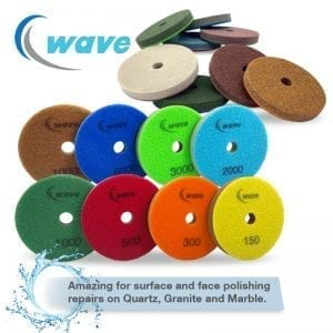 StonePro WAVE Quartz Surface Polishing Pads